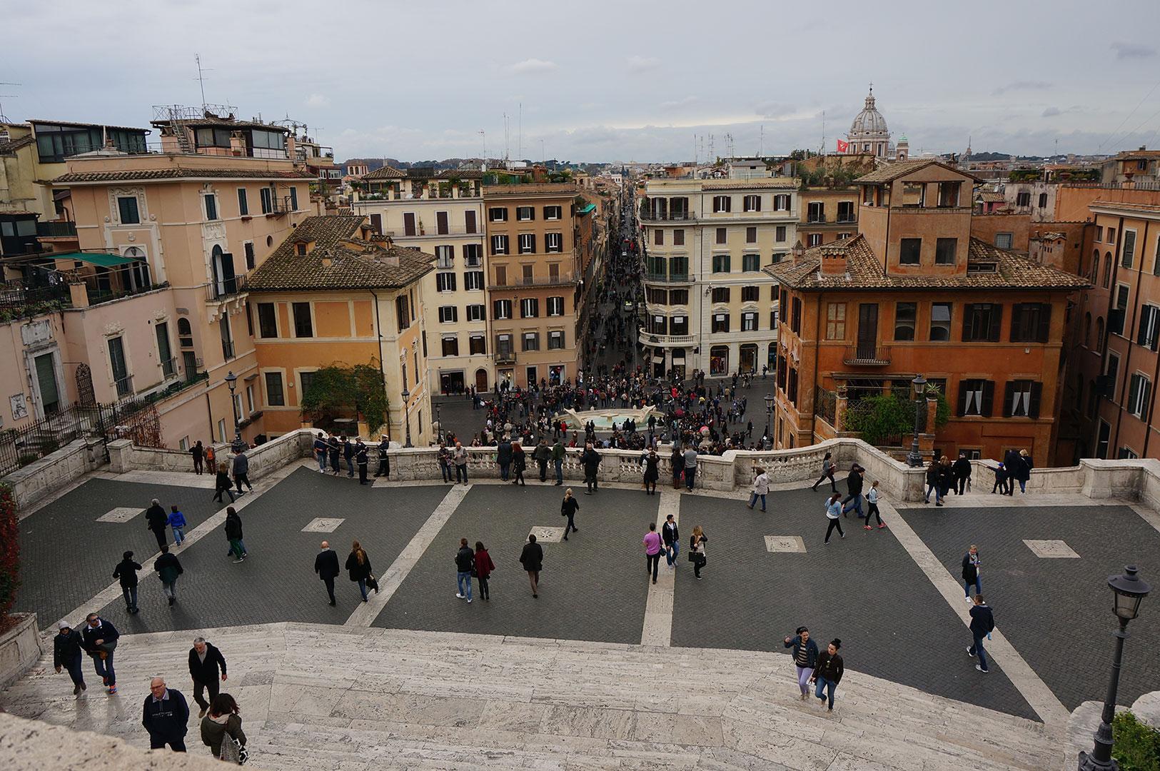 İspanyol Merdivenleri - Roma - Spanish Steps