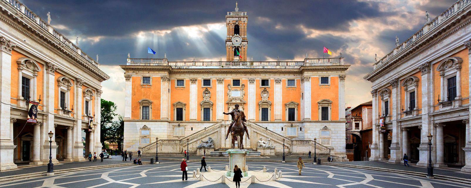 Campidoglio Meydanı - Roma