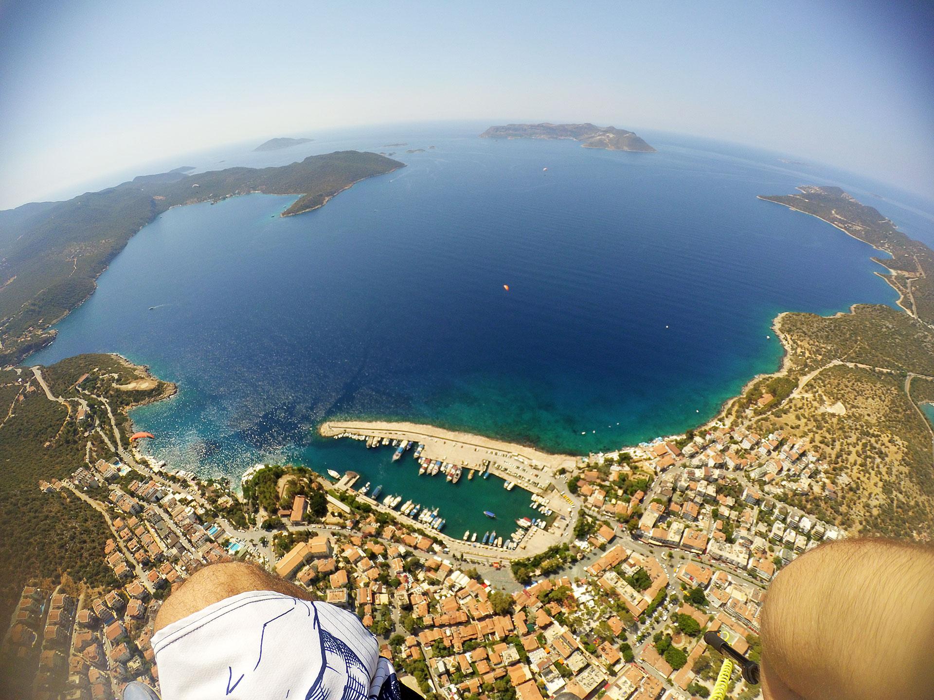 Kaş - Paraşüt - Antalya - Türkiye