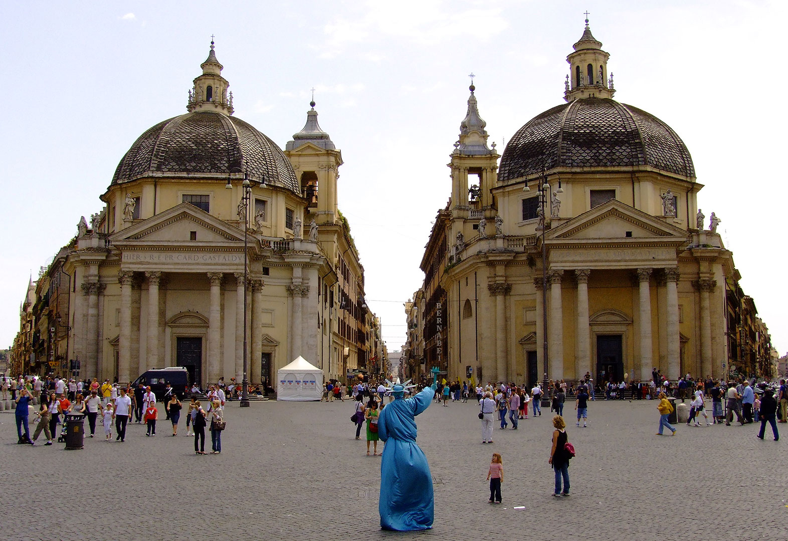 Piazza del Popolo - Meydan - Roma