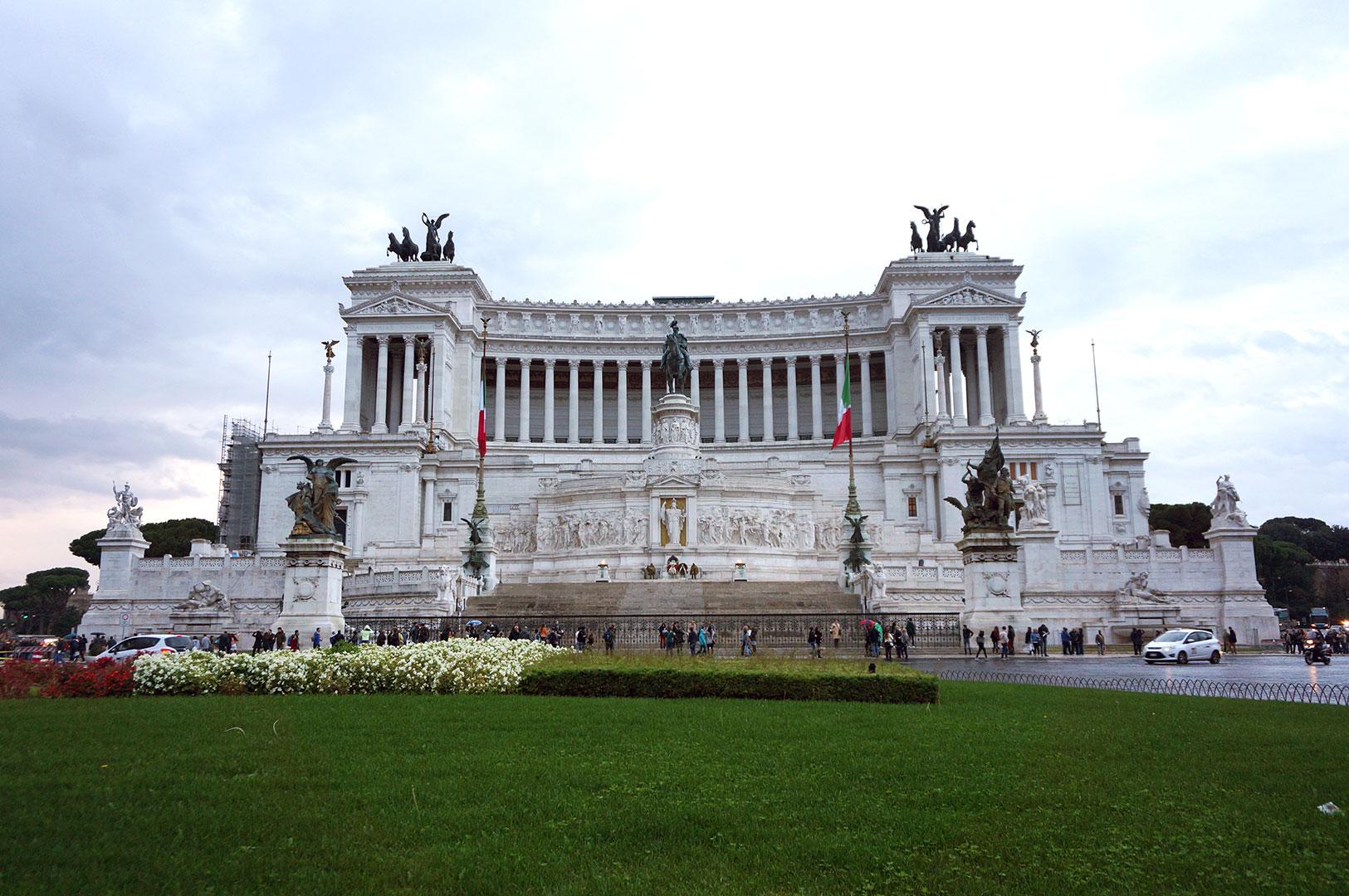 Piazza Venezia - Roma - Pastanın Kreması