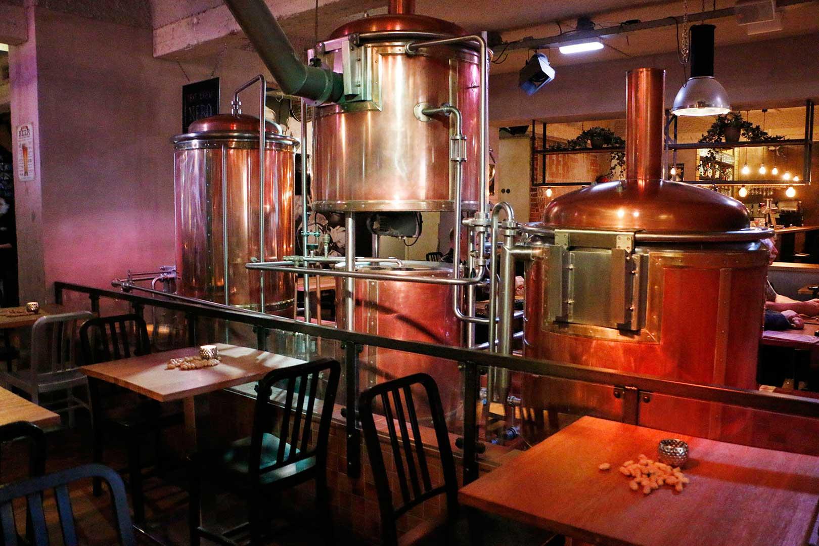 Bier Fabriek - Bira Fabrikası - Bira - Bitterballen - Piliç Çevirme - Brewery - Brouwery