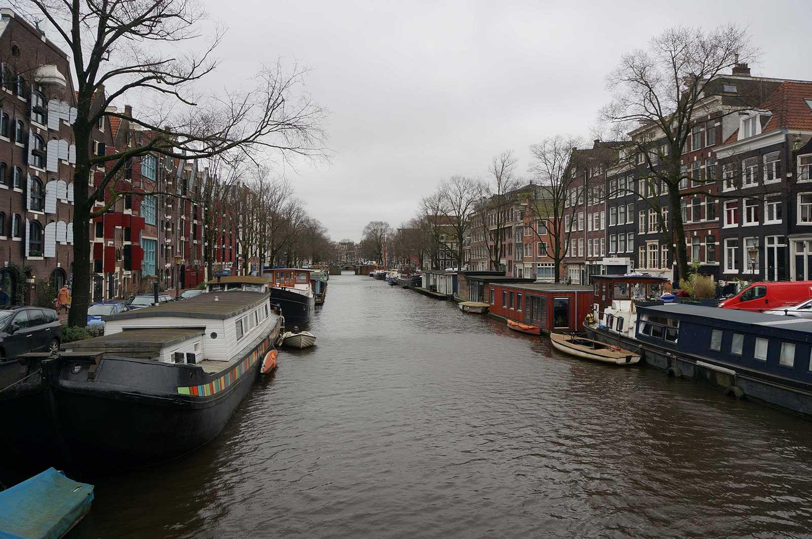 Yüzen - Evler - Amsterdam