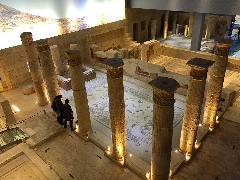 Gaziantep - Zeugma Müzesi - Çingene Kızı - Mozaiği - Mozaik - Tarih - Muze