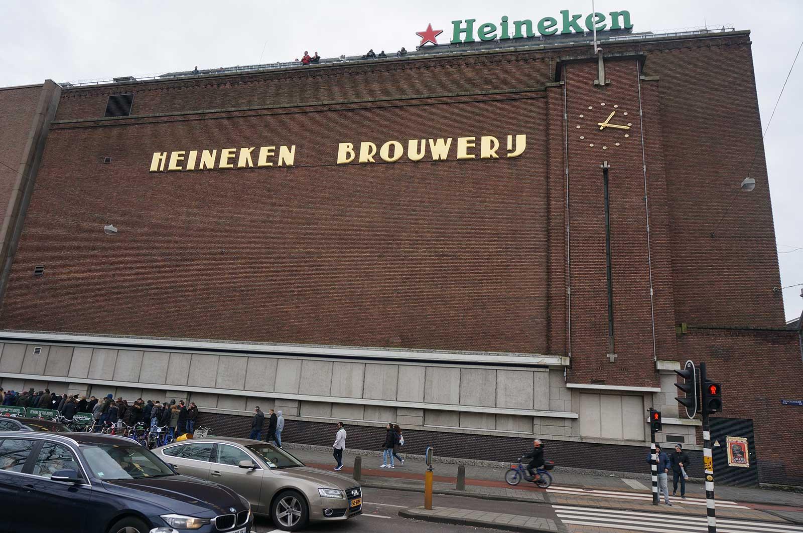 Heineken Experience - Heineken Fabrika - Heineken Brewery - Heineken Brouwery
