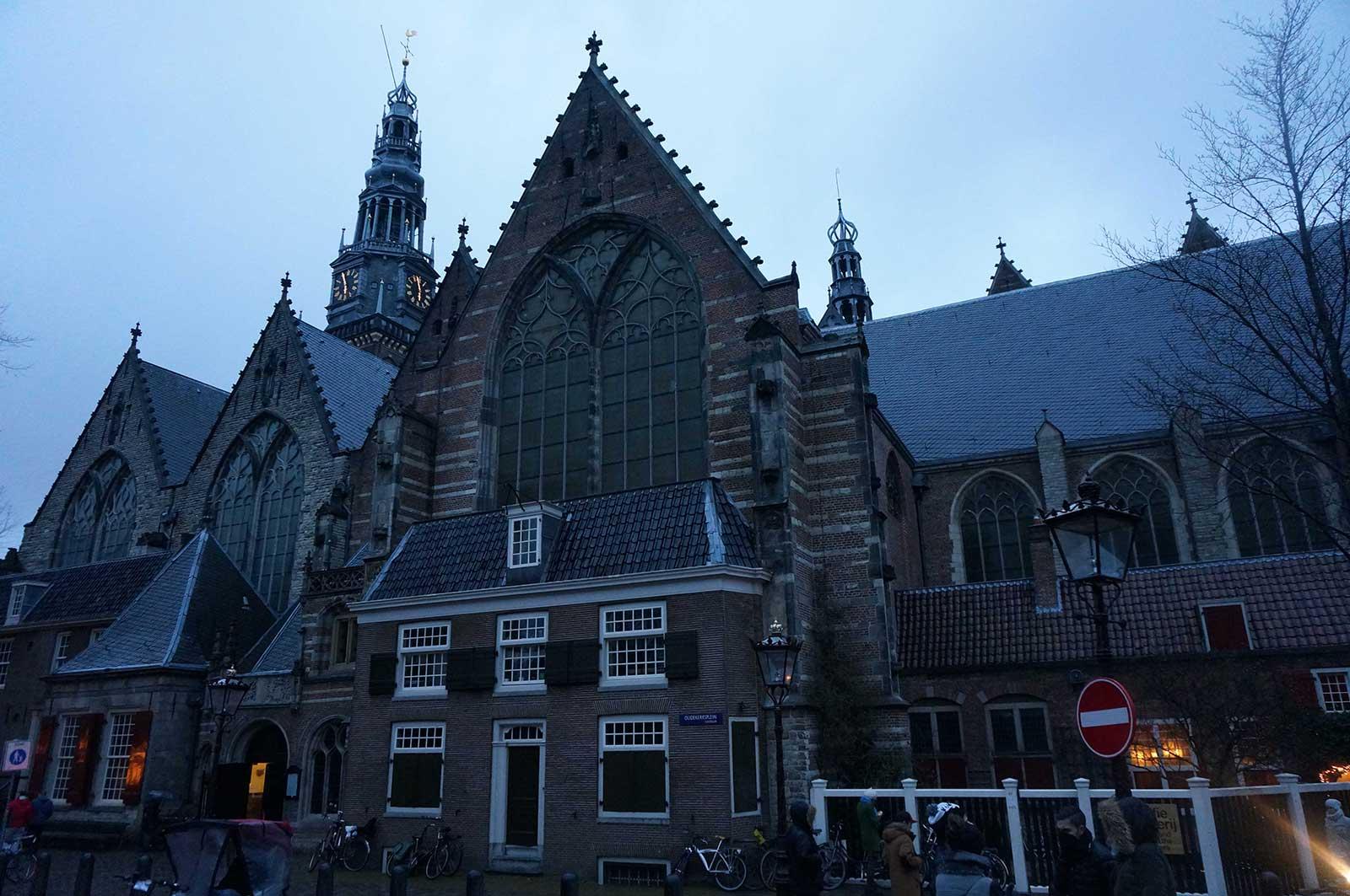 Oude Kerk - Eski Kilise - Kırmızı Işık