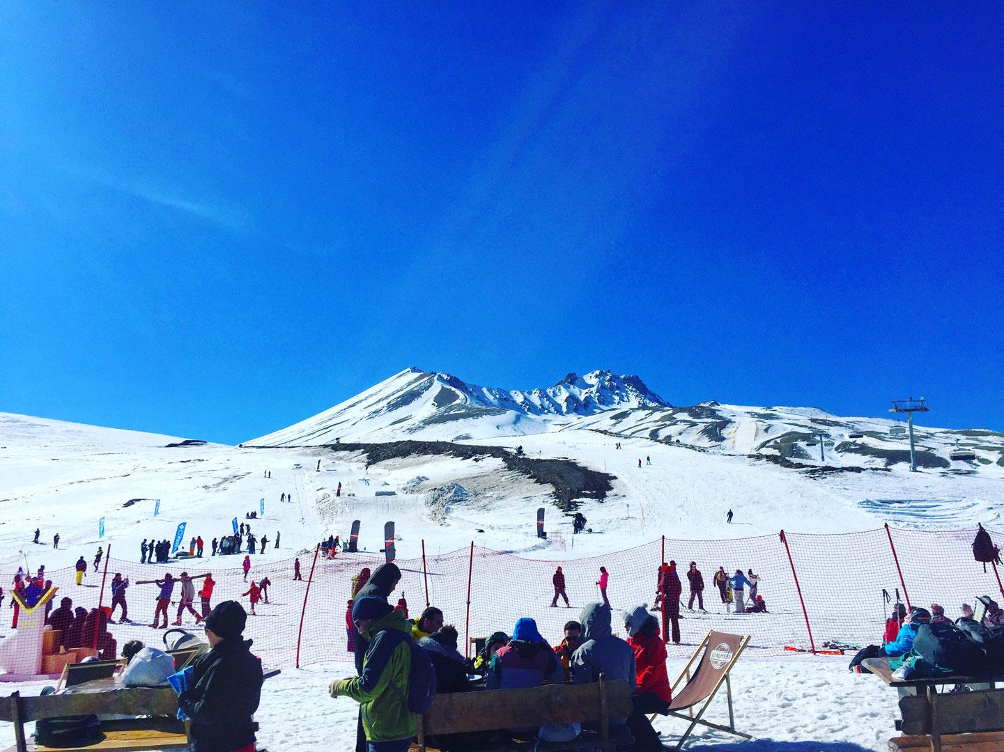 Erciyes - Kayak - Merkezi - Board - Ski - Kayseri - Sucuk - Pastırma -Snowboard