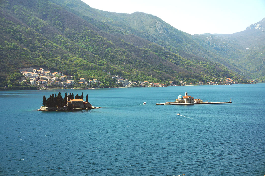 Perast - Sveti Dordje - Our Lady of the Rocks - Karadag - Montenegro