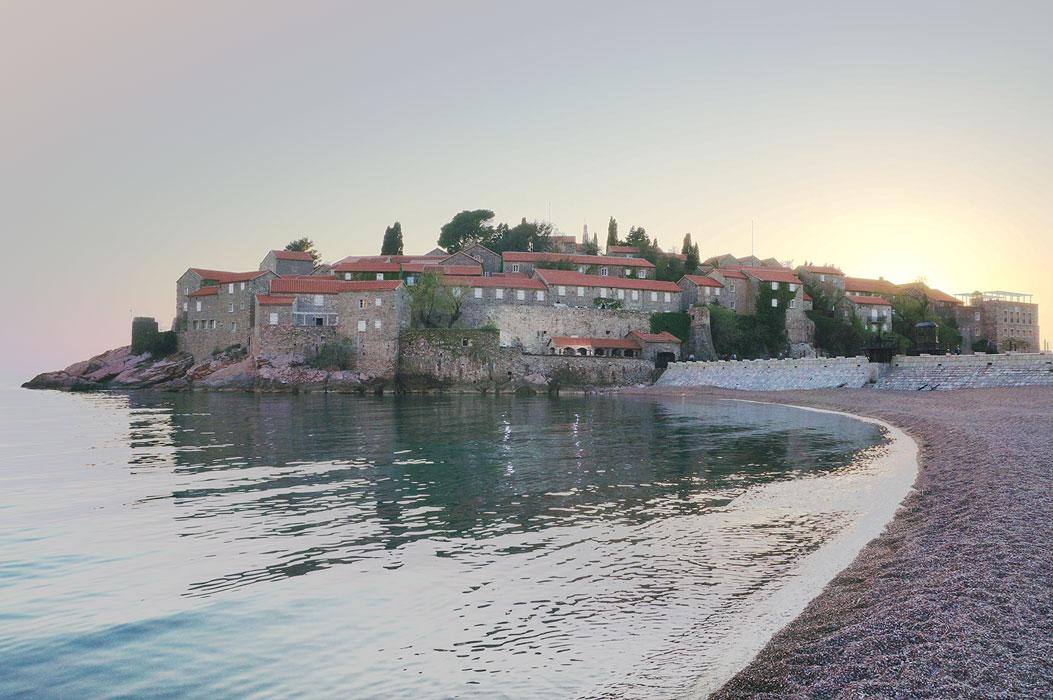 Sveti Stefan - Budva - Karadag - Montenegro