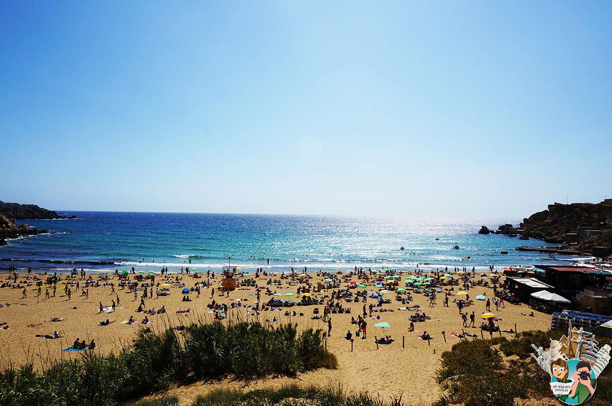 Malta - Golden Bay - Malta Gezilecek Yerler - Seyahat Planı