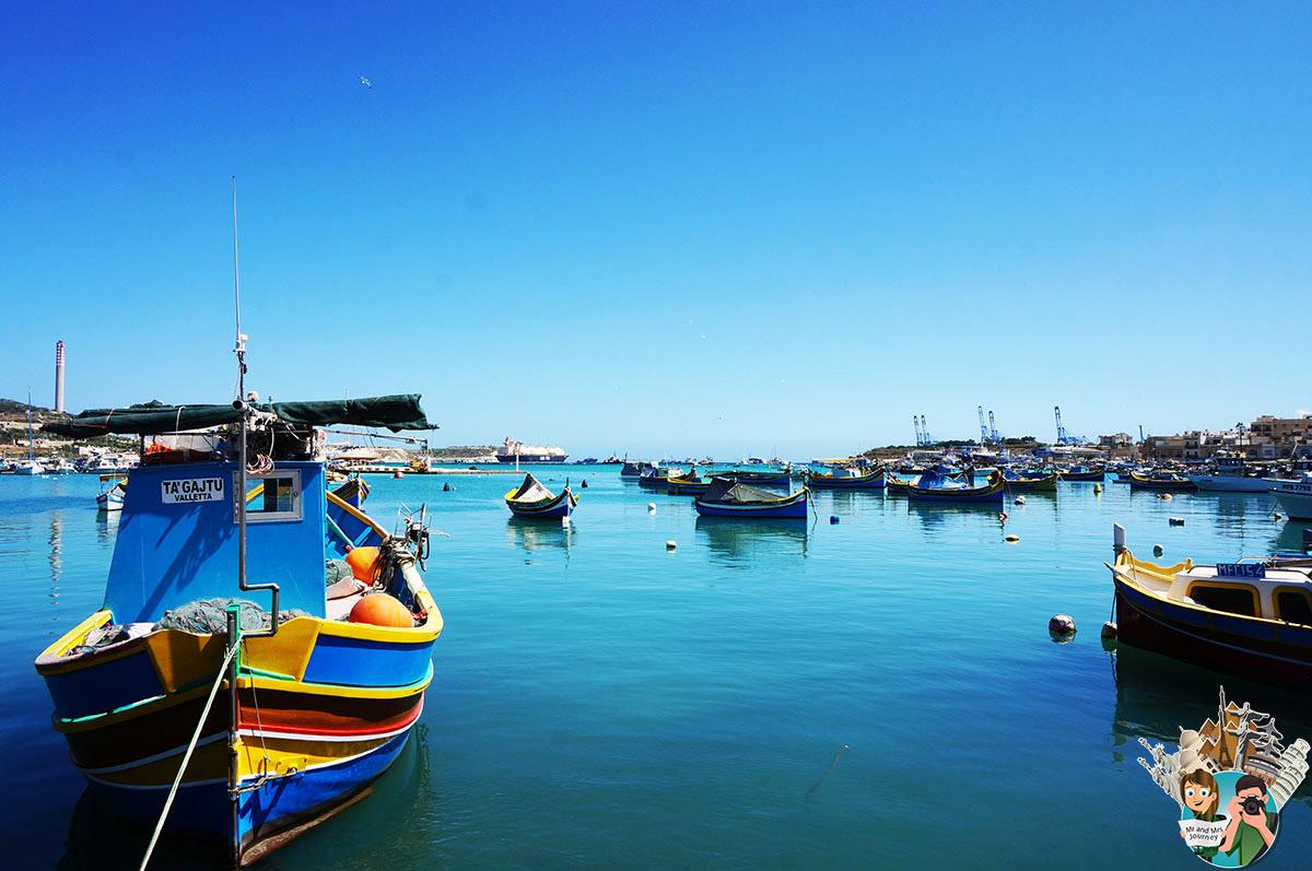 Malta - Marsaxlokk - gezilecek yerler - seyahat planı