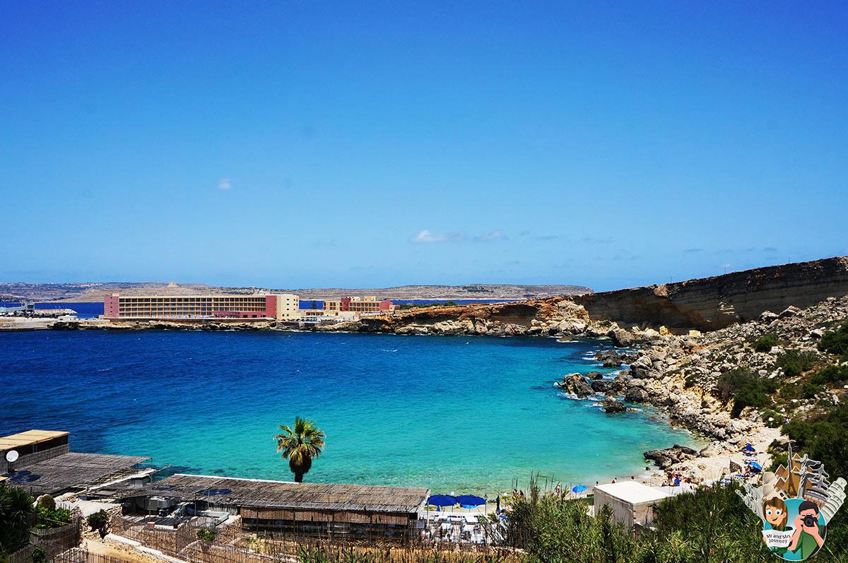 Malta - Paradise Bay - Malta Gezilecek Yerler - Seyahat Planı