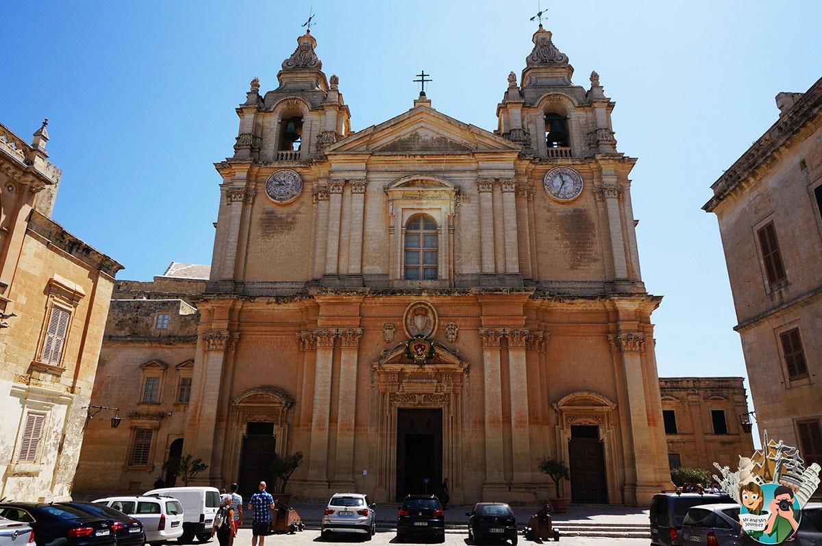 Malta - St Pauls Cathedral - Gezilecek yerler - Seyahat planı