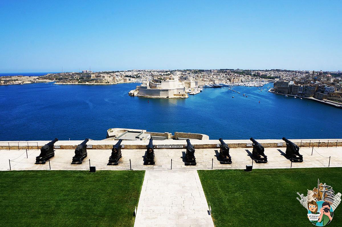 Malta - Upper Baraka - Garden - Malta Şehirleri -Cities