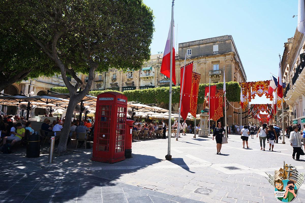 Malta - Valetta - Malta Gezilecek Yerler