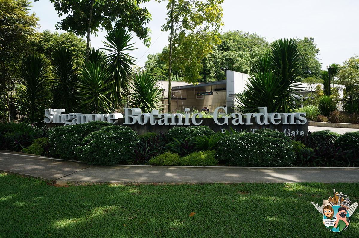 Singapur - Botanic Gardens - Singapore - Gezilecek Yerler