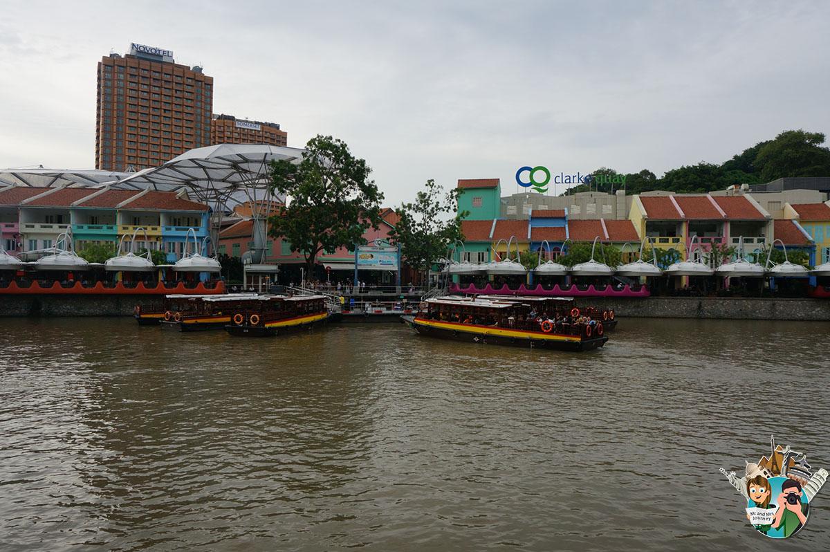 Singapur - Clark Quay - Singapore - Gezilecek yerler