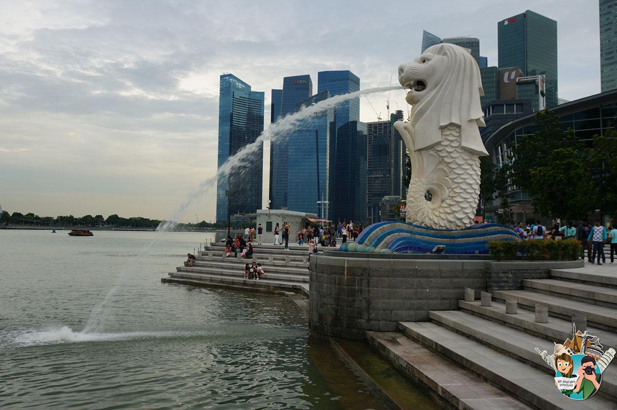 Singapore - Merlion Park - Singapur Gezilecek Yerler - Singapore gezilecek Yerler