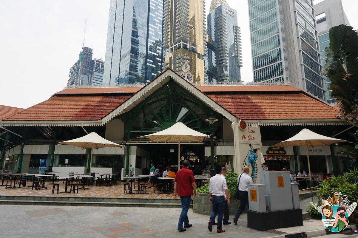 Singapur - Telok Ayer Market- Singapore - Singapur Gezilecek Yerler - Singapore Gezilecek Yerler