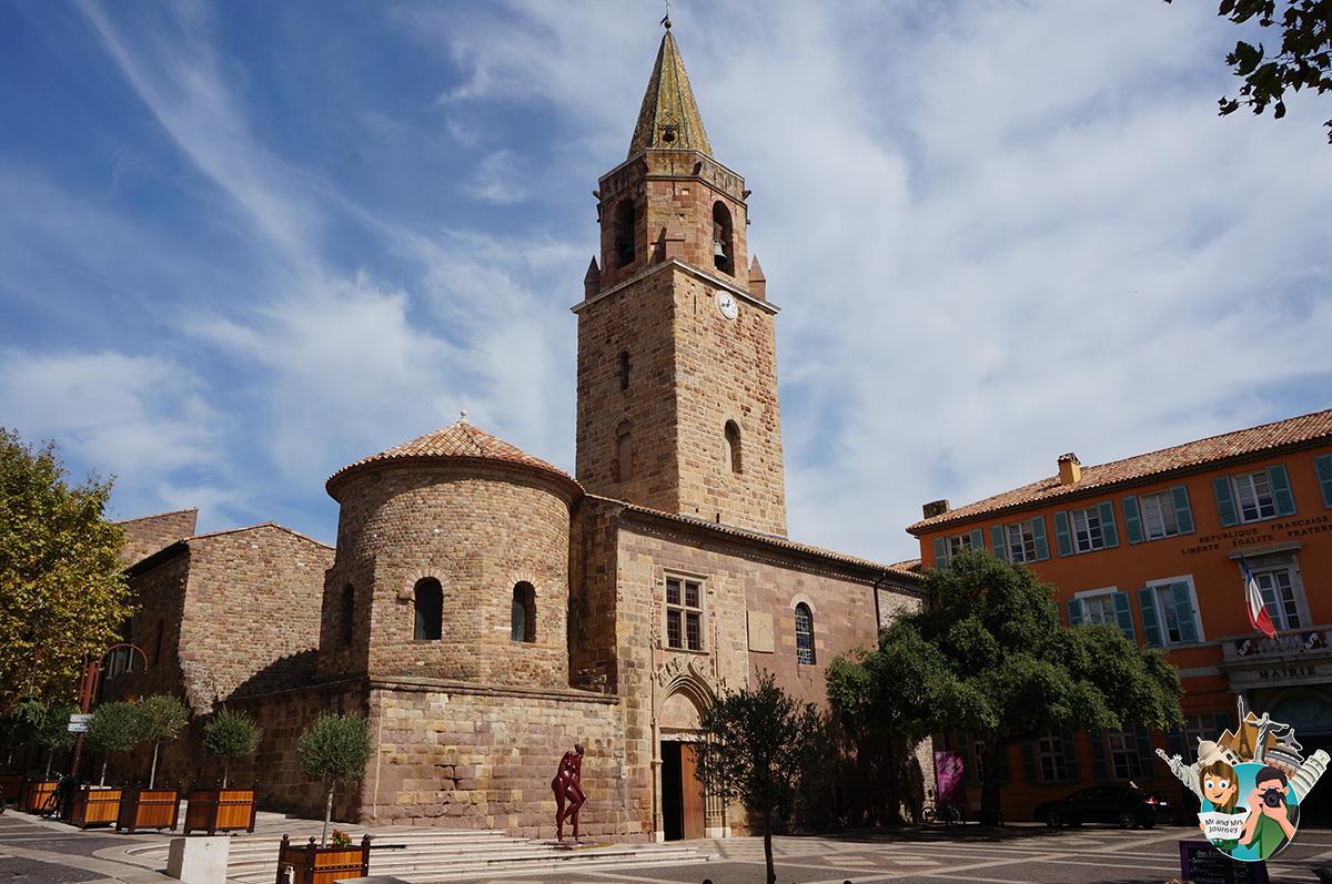 Cathedrale Saint-Leonce - CotedAzur - Güney Fransa - seyahat planı - gezilecek yerler