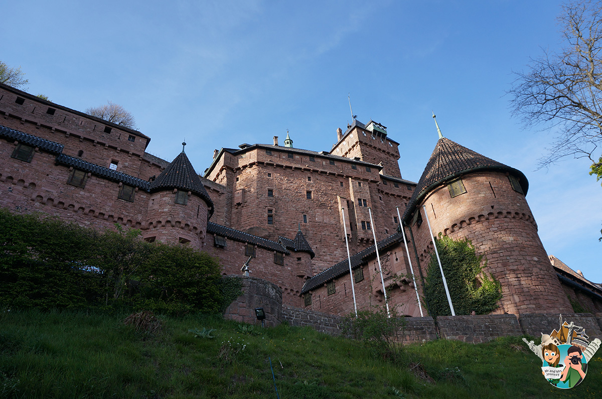 Chatau-de-Haut-konigsburg-Fransa-France-Alsace-gezilecek-yerler