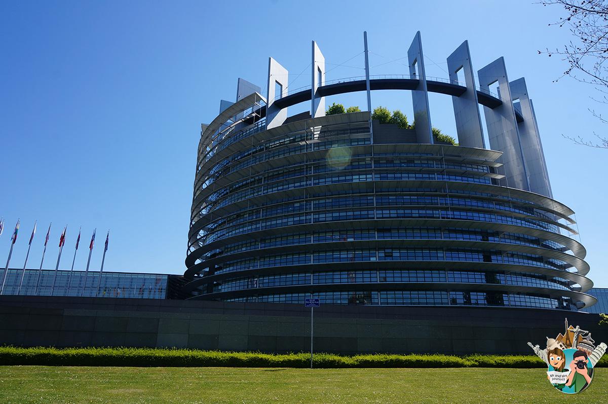 Europarliment-Strasbourg-France-Fransa-Alsace-gezilecek-yerler