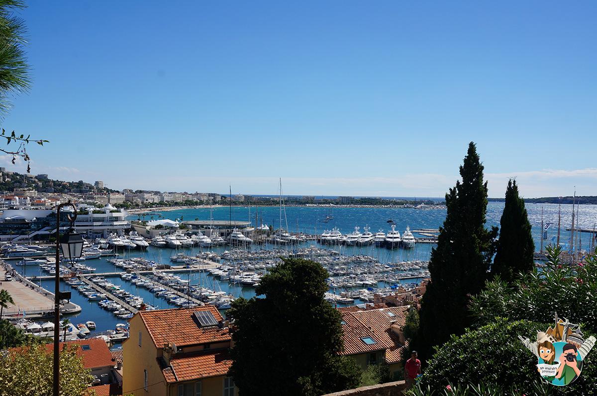 La vieux Port Cannes - CotedAzur - Güney Fransa - seyahat planı - gezilecek yerler