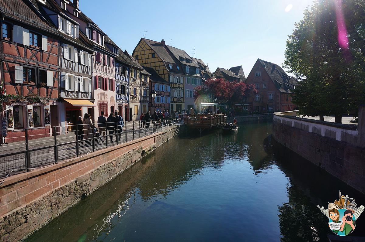 Le - Petite - Venice - Colmar - Alsace - Fransa - France -alsace gezilecek yerler