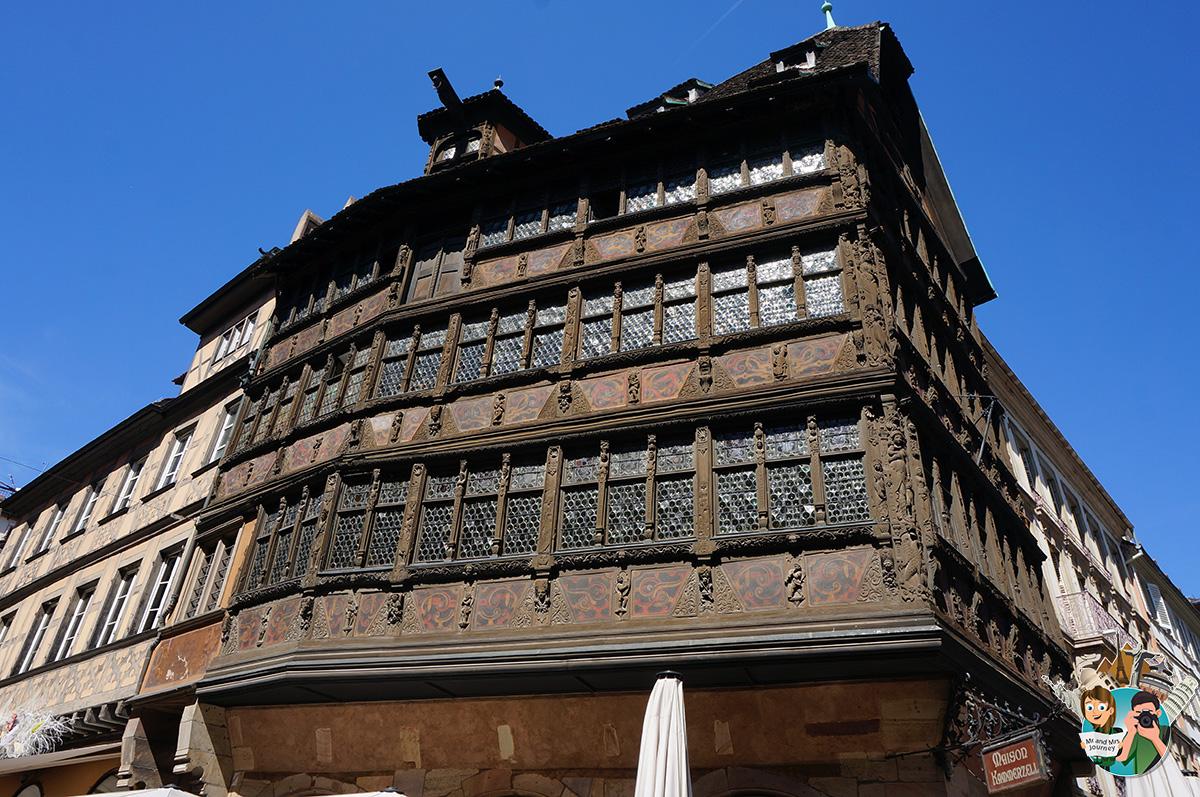 Maison-Kammerzell-Strasbourg-Fransa-France-Alsace-Gezilecek-yerler