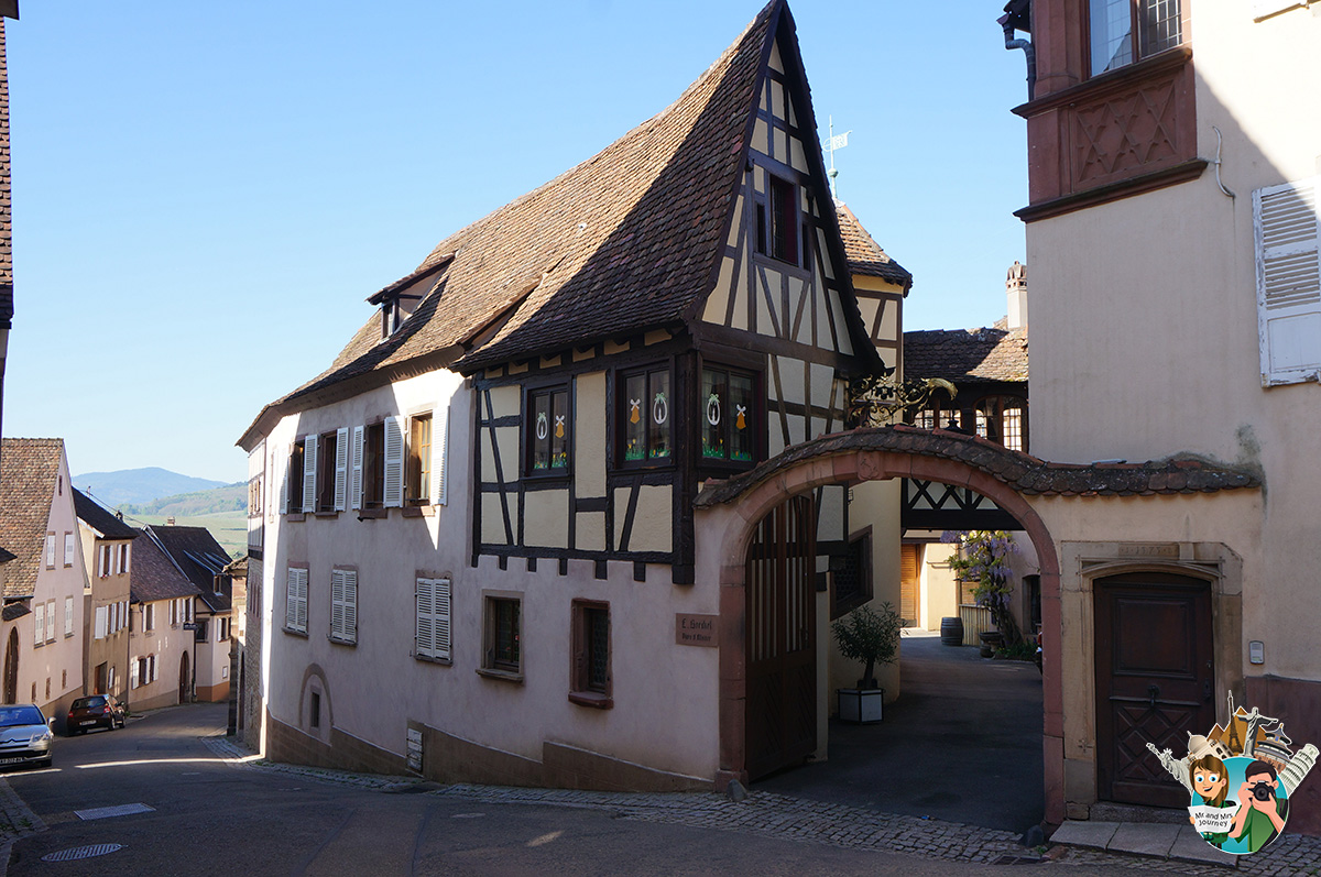 Mittelbergheim - Alsace - Fransa - France - Alsace gezilecek yerler