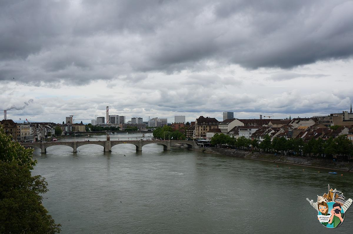 Mittlere-Brücke-Basel-isviçre-switzerland-gezilecek-yerler
