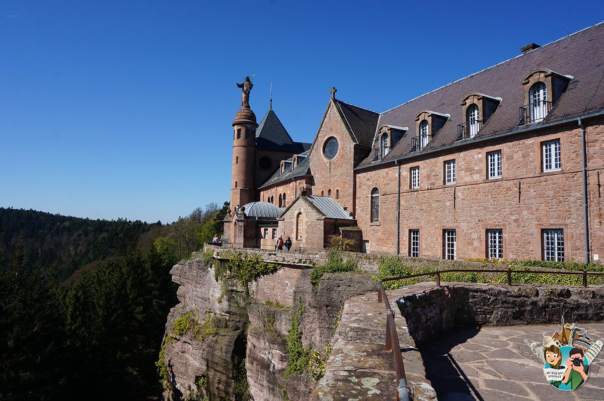 Mont - Saint - Odile - Alsace - Fransa - France - Alsace - Gezilecek Yerler
