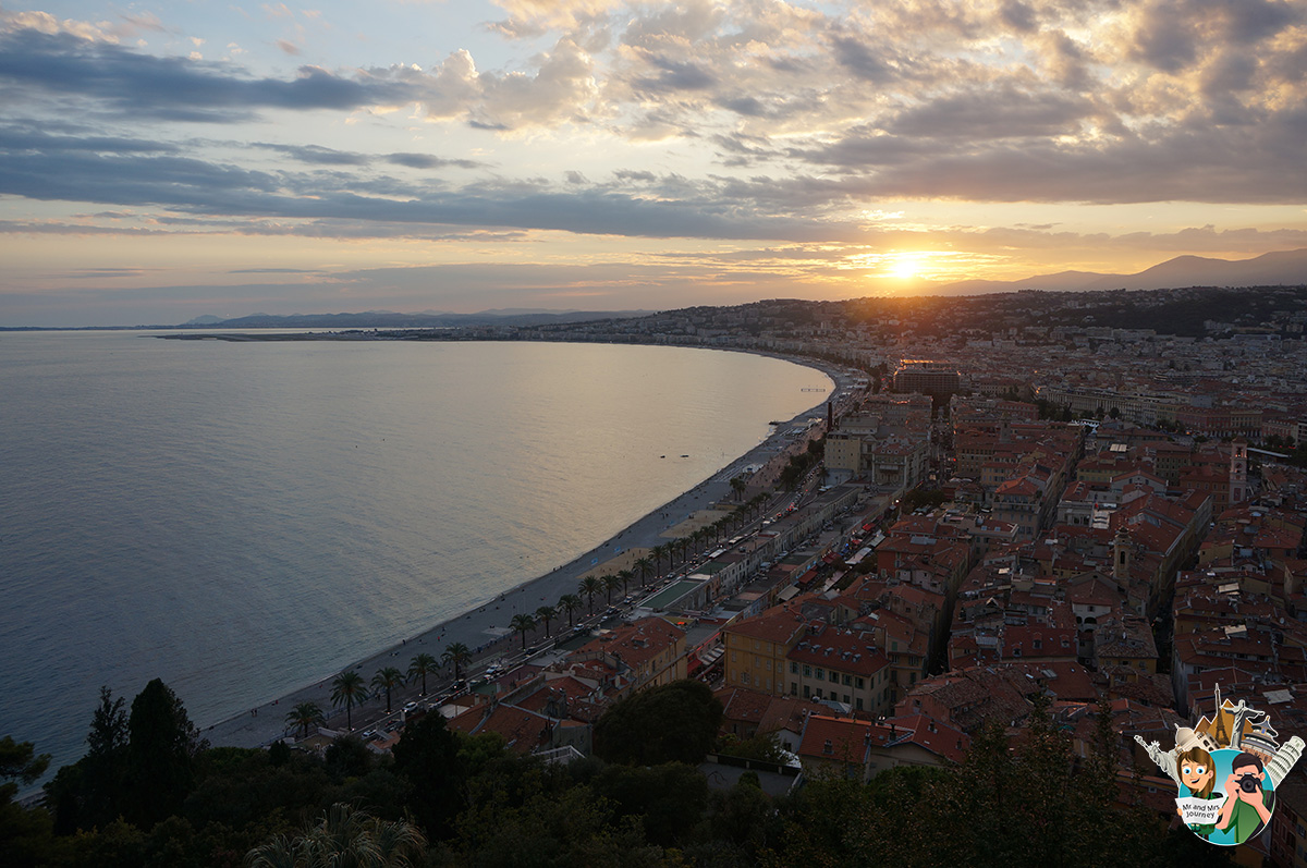 Nice - CotedAzur - Güney Fransa - seyahat planı - gezilecek yerler