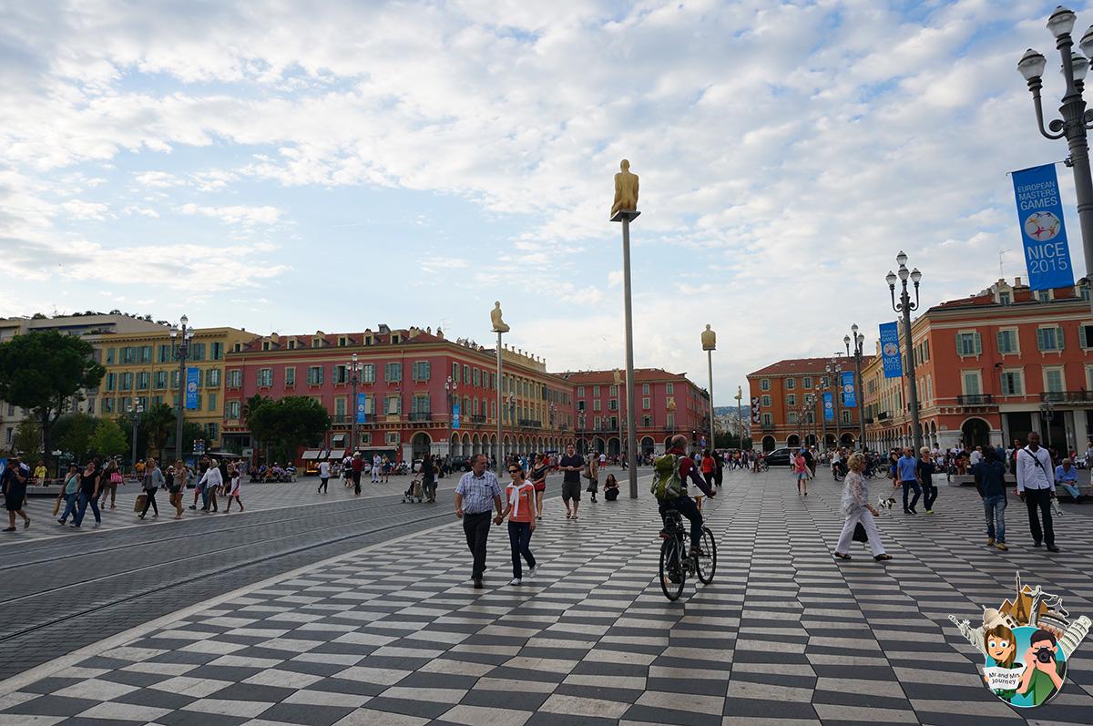 Place Massena - CotedAzur - Güney Fransa - Seyahat Planı - Gezilecek Yerler