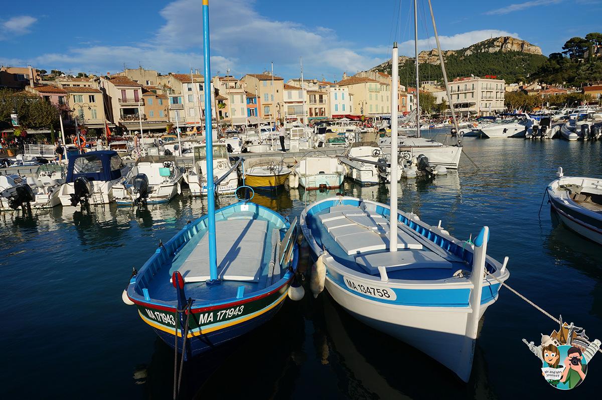 Port de Cassis - Cassis - CotedAzur - Güney Fransa - Gezilecek yerler - Seyahat Planı