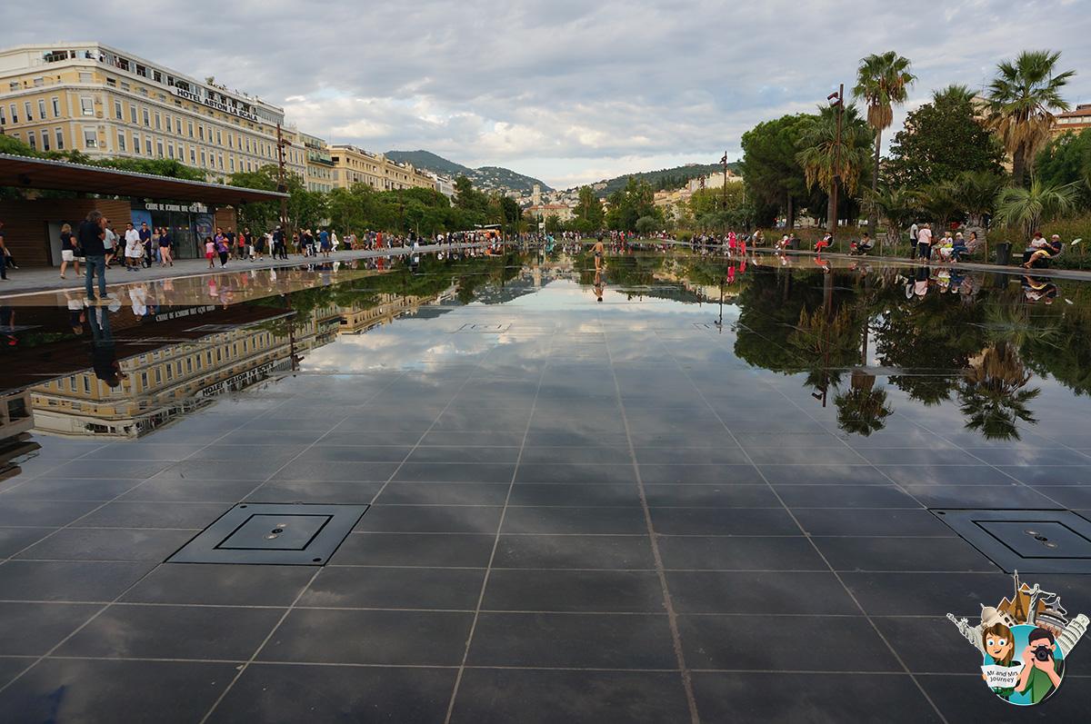 Promenade du Paillon - cotedAzur - Güney Fransa - Gezilecek yerler -seyahat planı