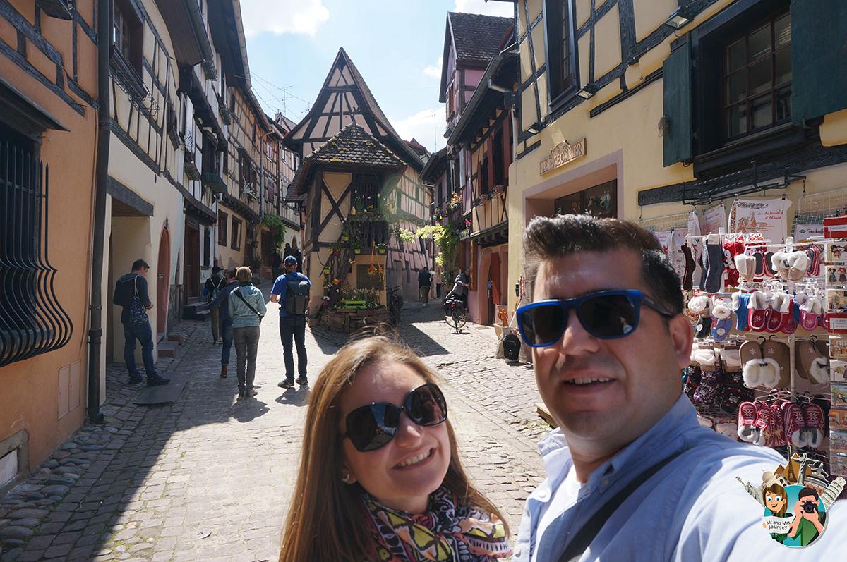 Rue - du - Rempart - S - Eguisheim - alsace - gezilecek - yerler - seyahat - plani