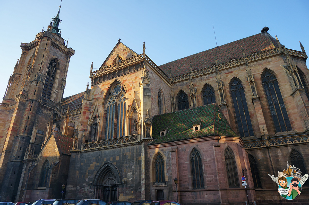 Saint - Martin - Kilisesi - Church - Colmar - Alsace -Fransa - France